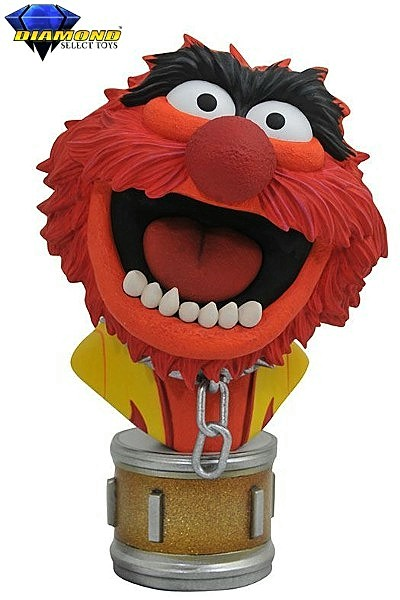 Diamond Select Toys The Muppet Show Animal Half Scale Bust