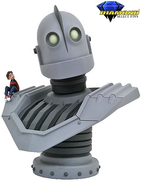 Diamond Select Toys Legendary Half Scale Iron Giant Bust