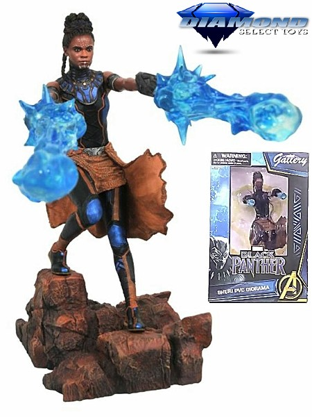 Diamond Select Toys Marvel Gallery Black Panther Shuri Figure