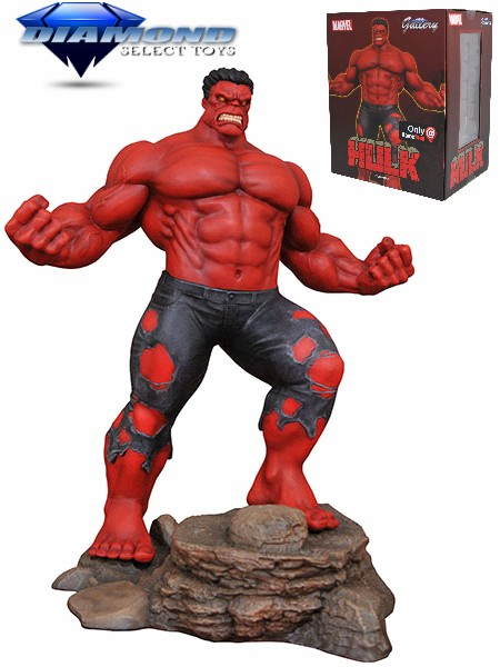 Diamond Select Toys Marvel Gallery Red Hulk Exclusive PVC Figure