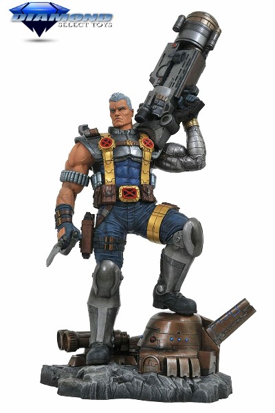 Diamond Select Toys Marvel Premier Collection Cable Statue