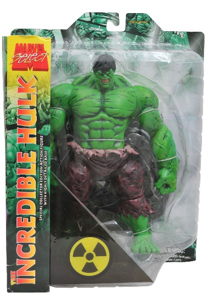 Diamond Select Toys Marvel Select Incredible Hulk Action Figure