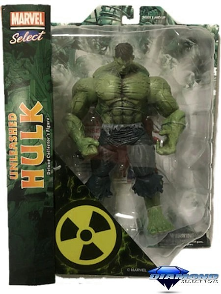 Diamond Select Toys Marvel Select Unleashed Hulk Action Figure