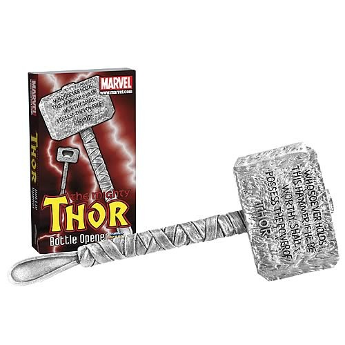 Diamond Select Toys Marvel Thor Hammer Bottle Opener