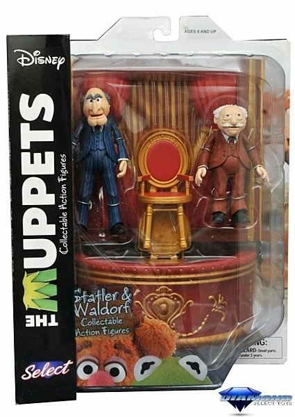 Diamond Select Toys The Muppets Statler and Waldorf Figure Set