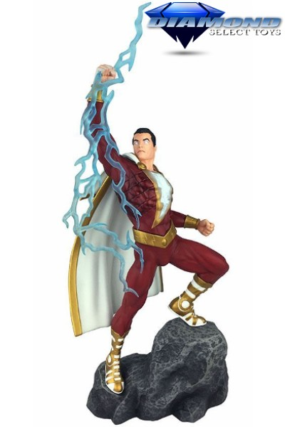 Diamond Select Toys DC Gallery Shazam Comic PVC Statue