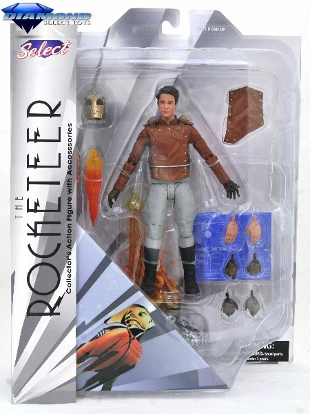 Diamond Select Toys Disney Select The Rocketeer Action Figure