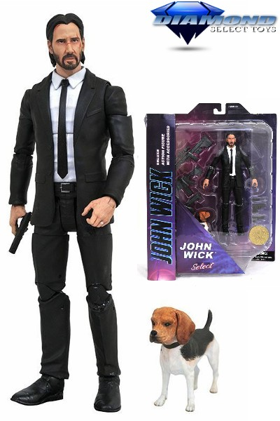 Diamond Select Toys John Wick Select Deluxe Action Figure