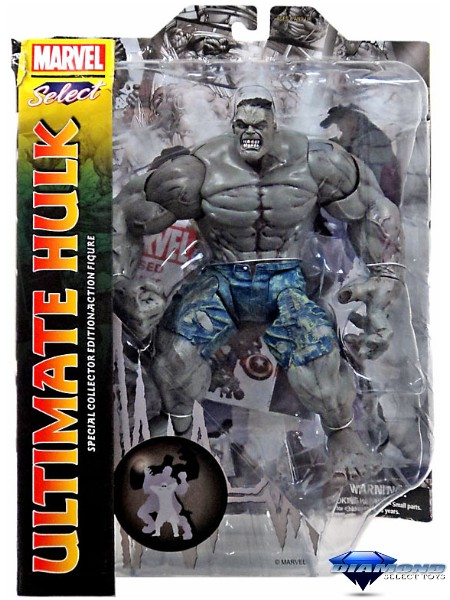 Diamond Select Toys Marvel Select Ultimate Hulk Action Figure