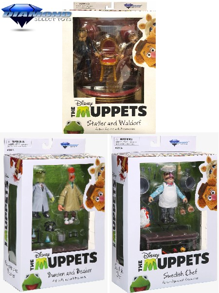 Diamond Select Toys The Muppets Best of Series 2 Figure Set