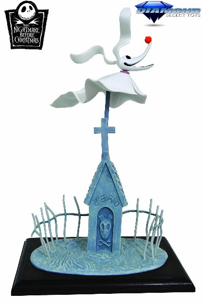 Diamond Select Toys Nightmare Before Christmas Zero Figure