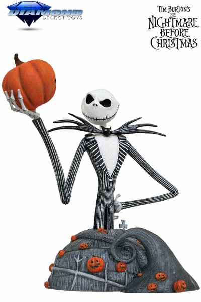 Diamond Select Toys The Nightmare Before Christmas Jack Bust