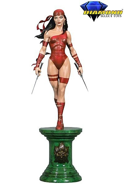 Diamond Select Toys Marvel Premier Collection Elektra Statue