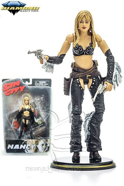 Diamond Select Toys Sin City Color Nancy Callahan 7 Inch Figure