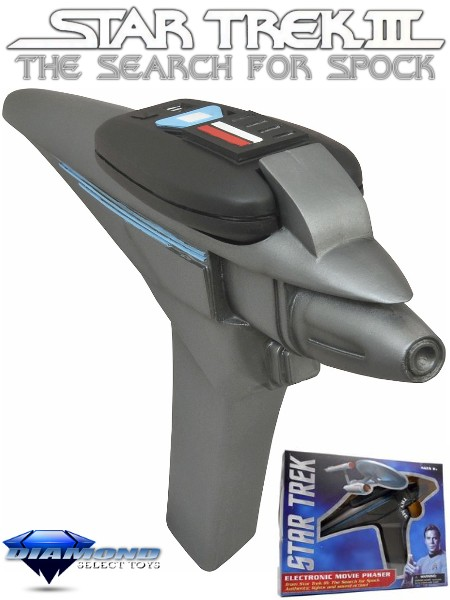 Diamond Select Toys Star Trek III Electronic Movie Phaser