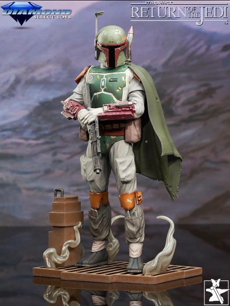 Preorder Diamond Star Wars Return of the Jedi Boba Fett Statue