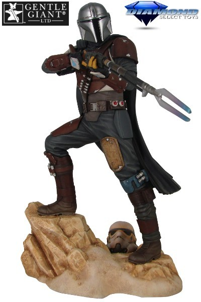 Preorder Gentle Giant Star Wars The Mandalorian MK1 Statue