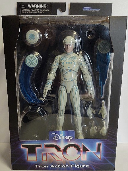 Diamond Select Toys Disney 1982 Tron Movie Tron Figure