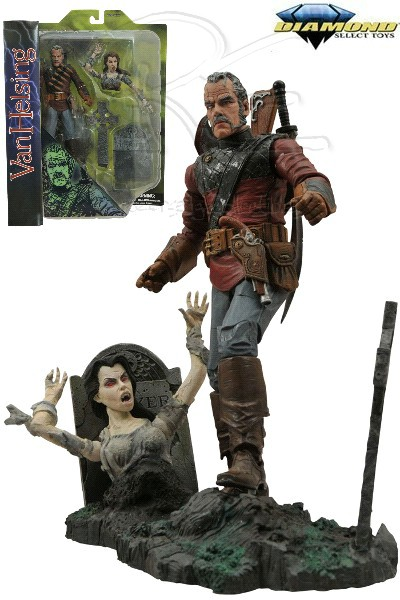 Diamond Select Toys Universal Monsters Van Helsing Figure