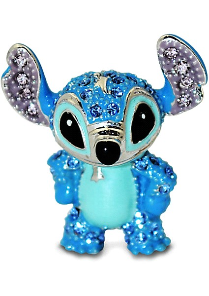Disney Jeweled Mini Stitch Figurine by Arribas Brothers