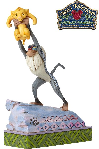 Disney Traditions The Lion King Rafiki and Baby Simba Statue