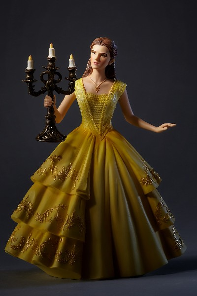 Disney Showcase Beauty and the Beast Live Action Belle Statue