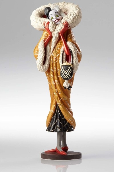 Disney Showcase Couture de Force Cruella Art Deco Figurine
