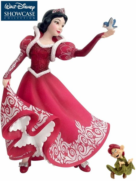Disney Showcase Holiday Series Snow White Figurine