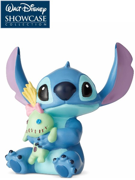 Disney Showcase Stitch with Doll Mini Statue