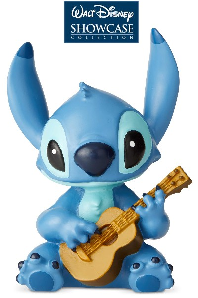 Disney Showcase Stitch with Guitar Mini Statue