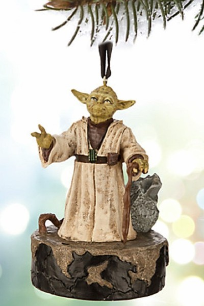 Disney Star Wars Yoda Talking Sketchbook Resin Ornament