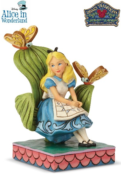 Disney Traditions Alice in Wonderland Curiouser Statue
