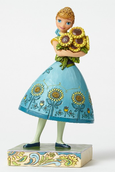 Disney Traditions Frozen Fever Anna Spring in Bloom Statue
