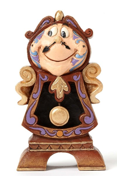 Disney Traditions Beauty and the Beast Cogsworth Figurine
