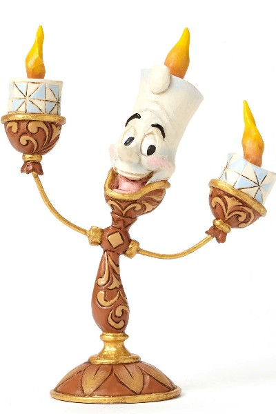 Disney Traditions Beauty And The Beast Lumiere Figurine
