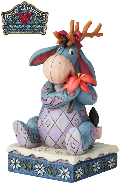 Disney Traditions by Jim Shore Eeyore Christmas Statue