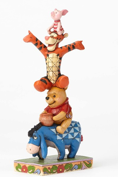 Disney Traditions Winnie the Pooh Built by Friendship Statue
