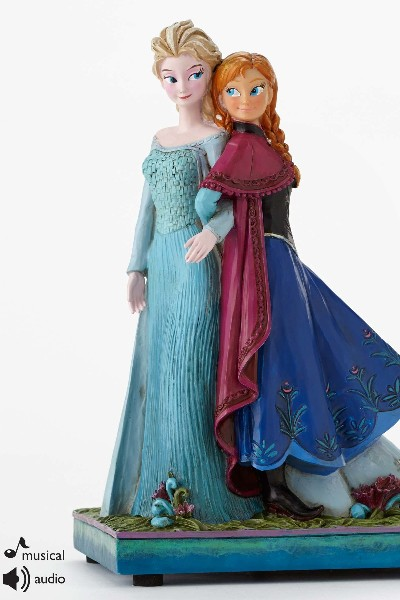 Disney Traditions Frozen Sisters Forever Musical Statue