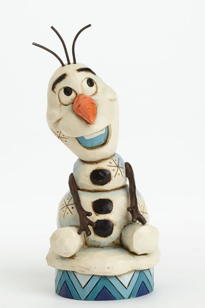 Disney Traditions Frozen Olaf Silly Snowman Figurine