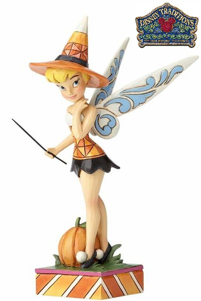Disney Traditions Tinker Bell Halloween Sweet Spell Statue
