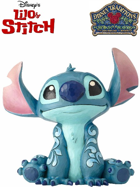 Disney Traditions Lilo and Stitch Big Fig Stitch Statue