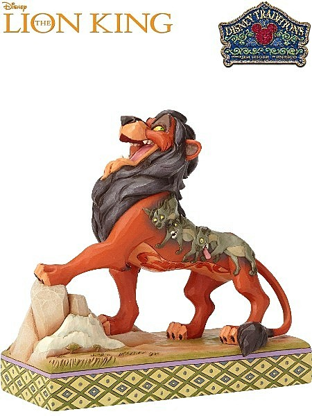 Disney Traditions The Lion King Scar Preening Predator Statue