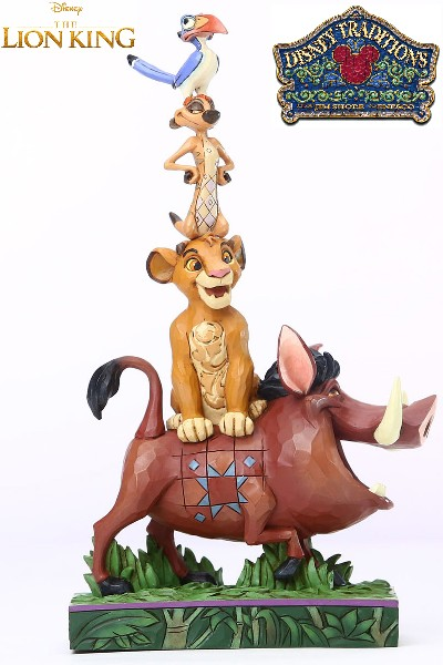 Disney Traditions The Lion King Stacked Characters Statue