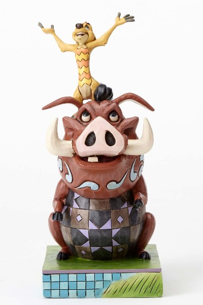 Disney Traditions The Lion King Timon and Pumba Statue