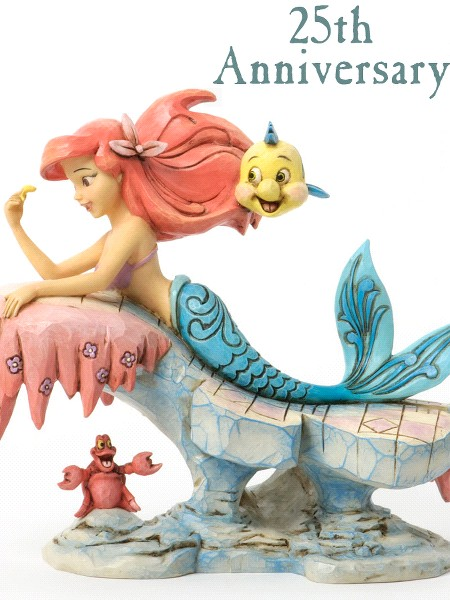 Disney Traditions The Little Mermaid 25th Anniversary Statue