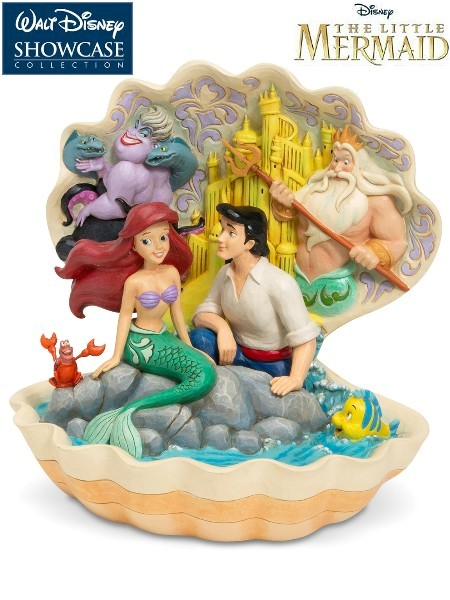 Disney Traditions The Little Mermaid Seashell Scenario Statue