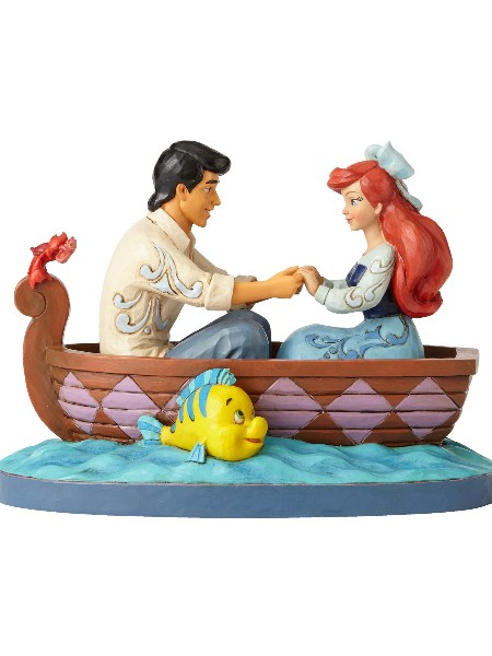 Disney Traditions Little Mermaid Waiting For A Kiss Statue