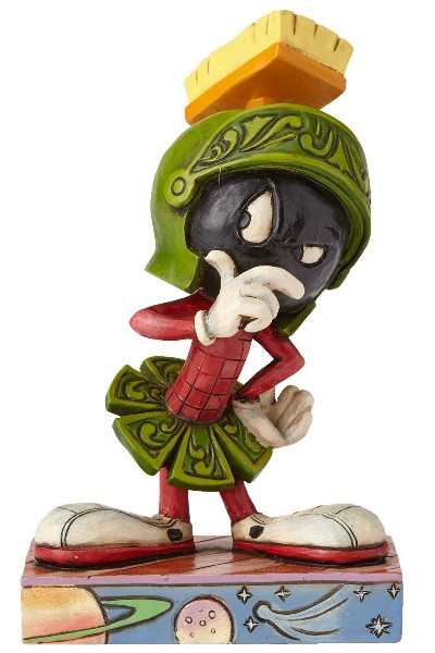 Looney Tunes by Jim Shore Marvin the Martian Statue
