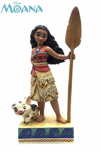 Disney Traditions Moana Find Your Own Way Moana Statue
