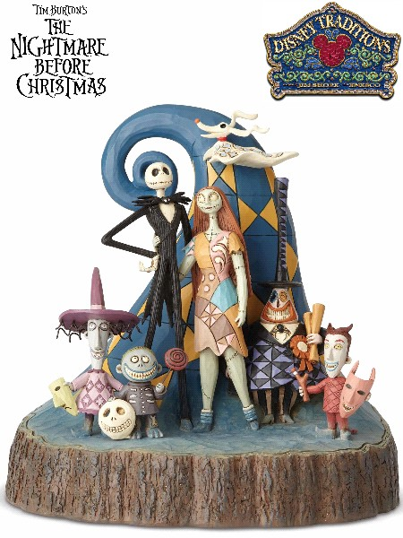 Disney Traditions Nightmare Before Christmas Carved by Heart